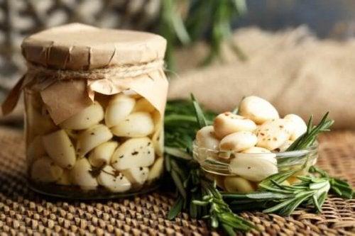 마늘 기름을 이용한 건강 요법