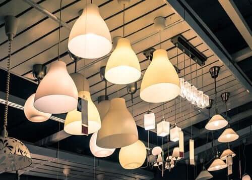 빈티지한 방 꾸미기 : 램프등