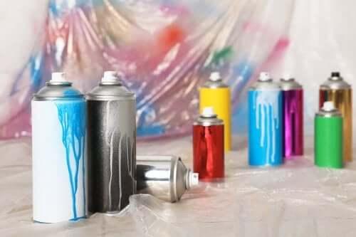 스프레이 페인트의 장점