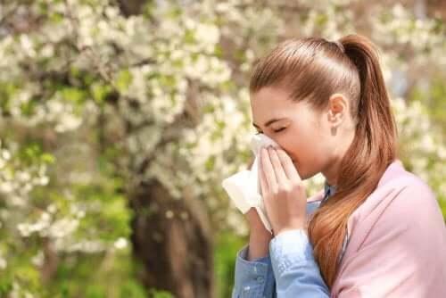 알레르기를 위한 요법 3가지