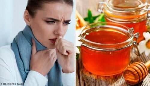 따뜻한 물과 꿀로 인후통 치료하는 방법