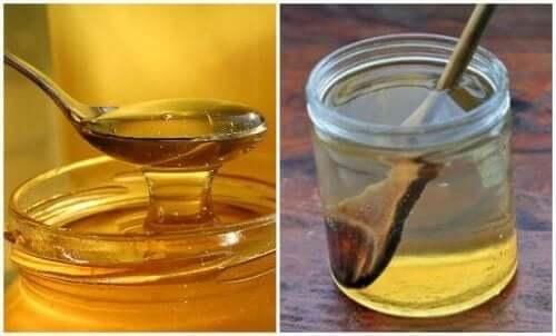 따뜻한 물과 꿀로 인후통을 치료하는 방법