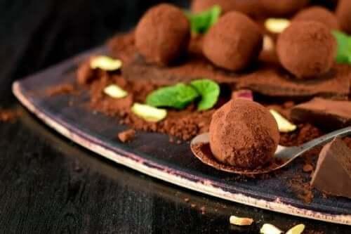 홈메이드 트러플 초콜릿 레시피