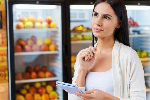영양성분표에는 어떤 정보가 있을까?