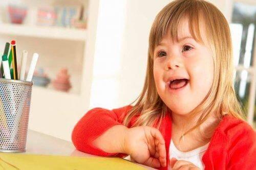 다운증후군이 있는 아이를 키우는 일