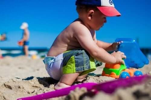 아이들과 바닷가에 가기