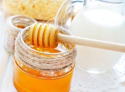 구내염과 꿀