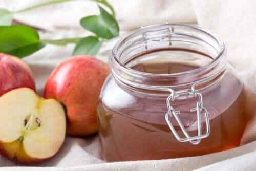 부비동염을 위한 사과식초