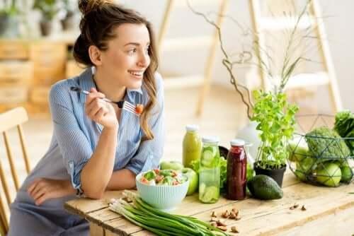 영양소를 충분히 섭취하면서 채식하는 방법