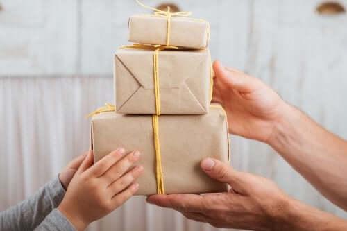 선물 상자 만들기