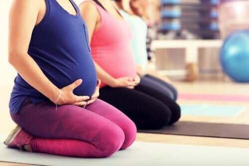 임신 중에 필라테스를 하면 좋을까?