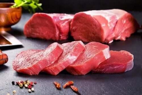 점점 증가하는 현상인 고기 섭취 중단