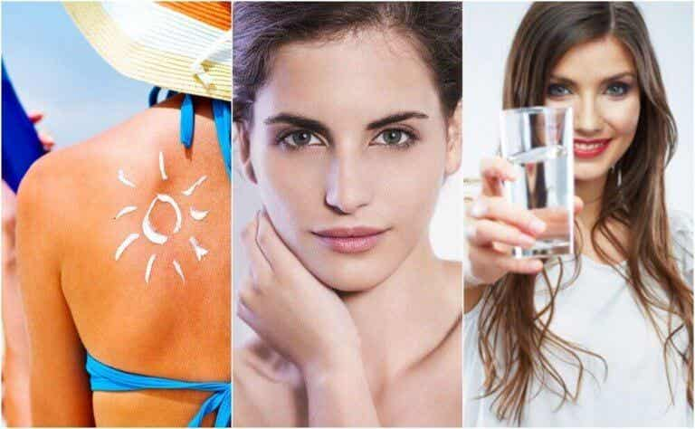 피부 조기 노화를 예방하기 위한 6가지 습관