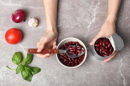 통조림 콩으로 만드는 4가지 요리