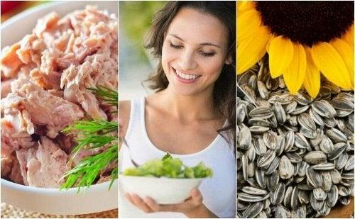 세로토닌 수치를 높이는 데 도움이 되는 6가지 음식