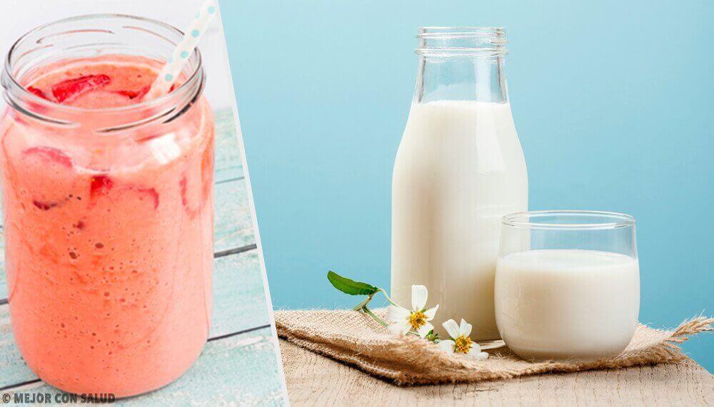 우유를 대신할 수 있는 음료들