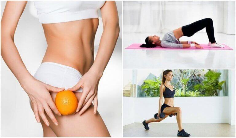 엉덩이와 허벅지의 셀룰라이트를 없애는 운동
