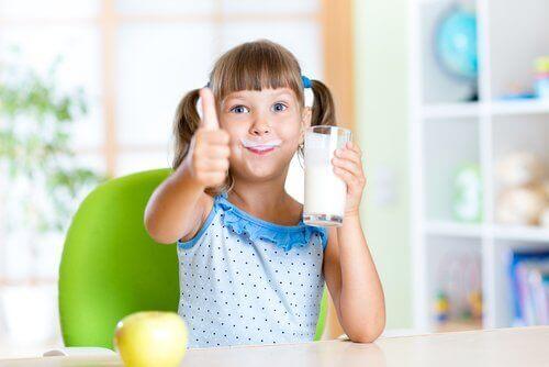 우유 섭취의 효능