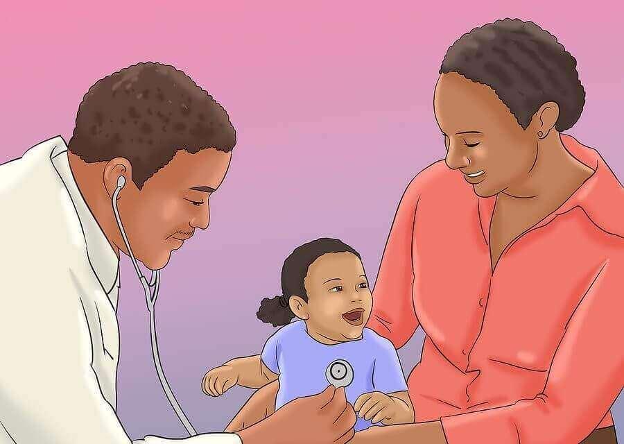 아기를 병원에 데리고 가야 한다는 7가지 징후
