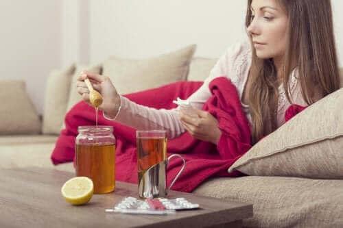 독감 완화에 도움이 되는 3가지 꿀 요법