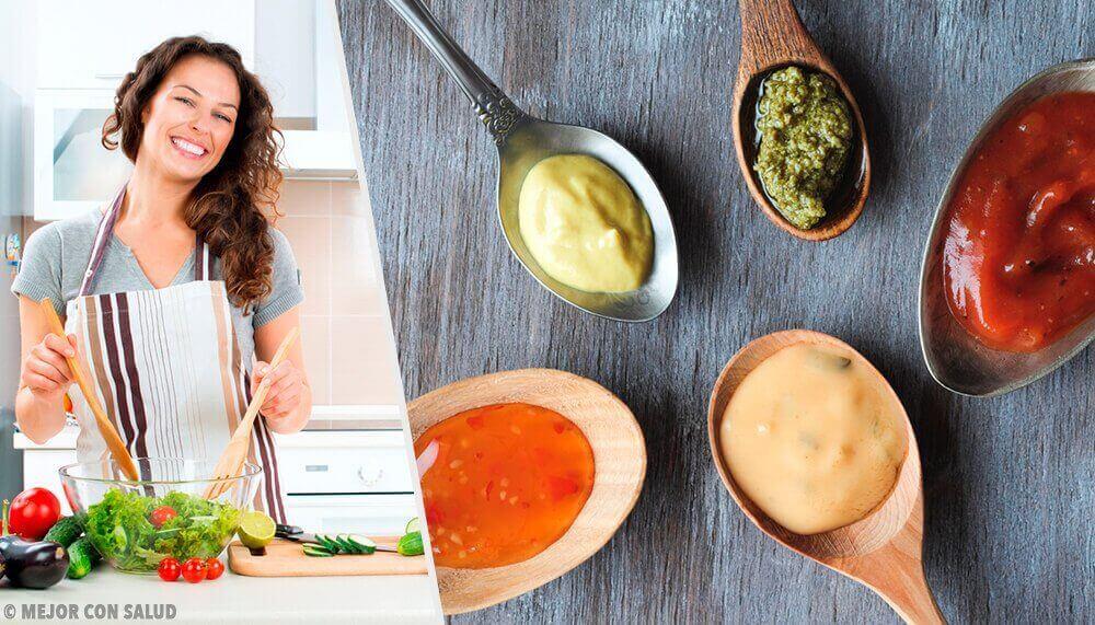 식사와 어울리는 건강한 소스 4가지