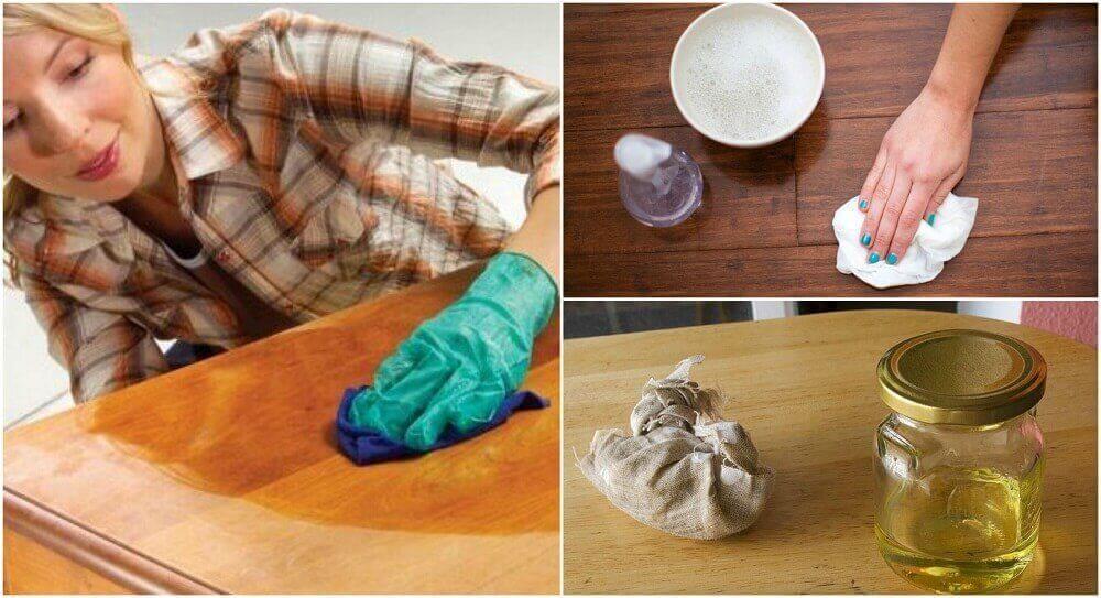 천연 목재 가구 클리너를 만드는 5가지 방법