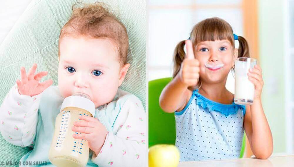 아이 건강에 가장 좋은 우유는 무엇일까?