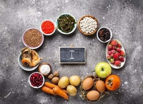 인리치드 식품과 포티파이드 식품