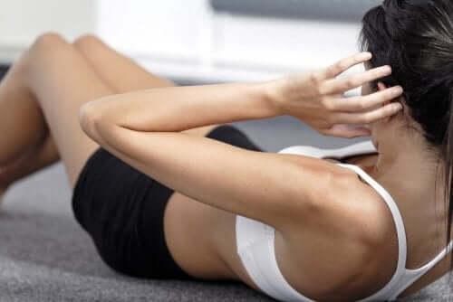 바쁠 때도 할 수 있는 복부 운동