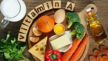 비타민 A가 풍부한 식품