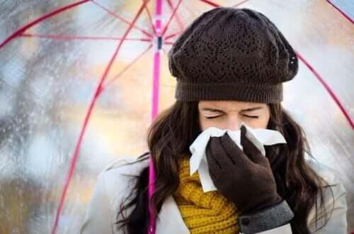 겨울철 감기를 예방하는 방법
