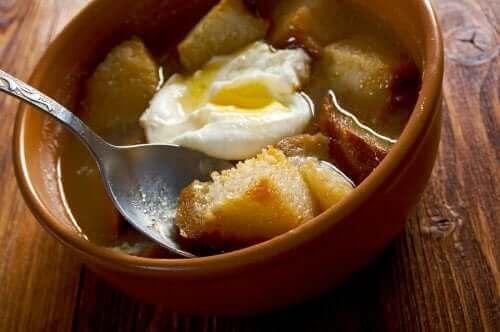 마늘 수프를 만들어보자