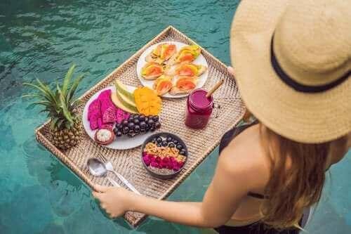 체중을 유지하는 여름철 식습관