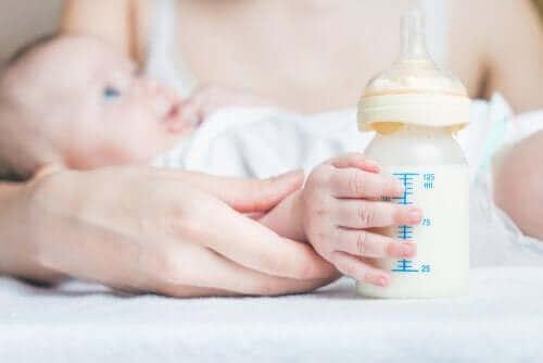 아기 가스 배출 방법