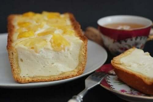 오븐 없이 만드는 피나콜라다 치즈케이크