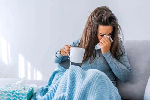 독감이 신체에 미치는 영향
