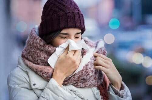 감기에 걸리는 이유