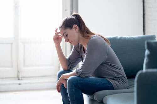 육체적 고통과 불안의 상관관계