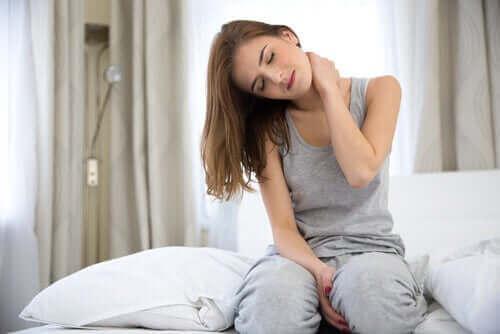 육체적 고통과 불안