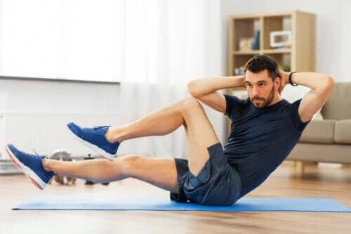 코로나를 피해 집에서 할 수 있는 복근 운동