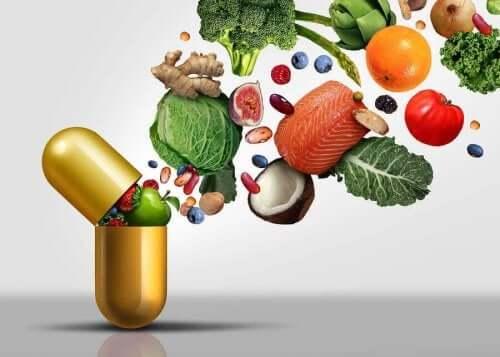 수용성 비타민은 용해되는 위치에 따라 다르다