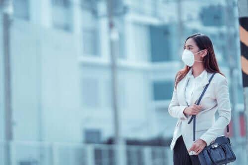 코로나바이러스 예방을 위한 다양한 마스크