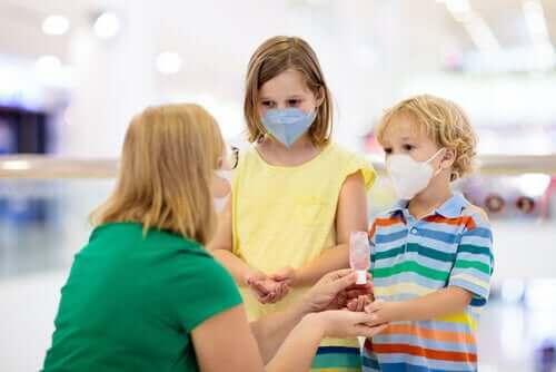 아이의 코로나19 감염을 막는 방법