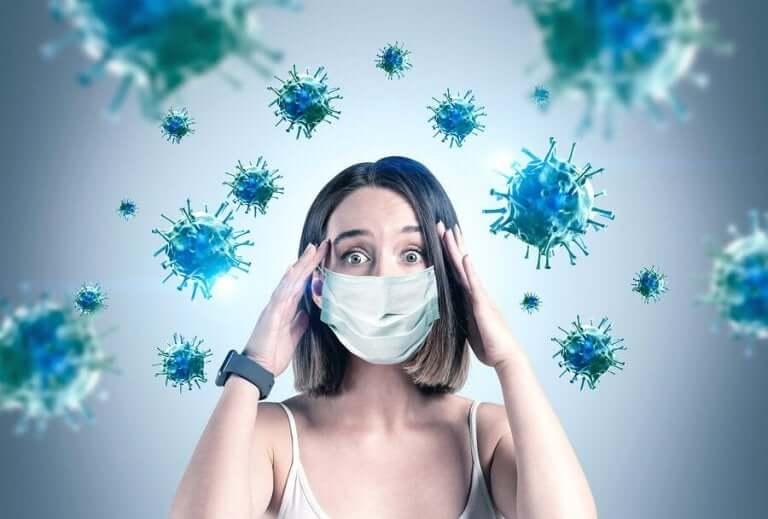 코로나바이러스의 전파