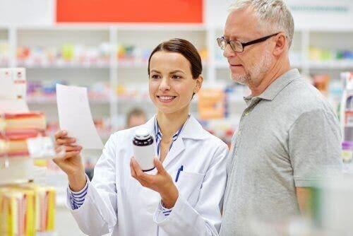 의약품 패키지 삽입물의 목적