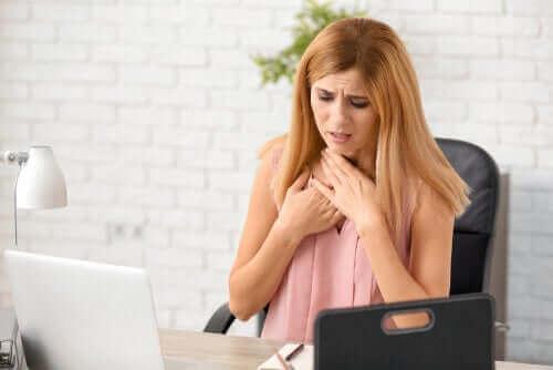 숨가쁨의 주요 원인 및 해결 방법