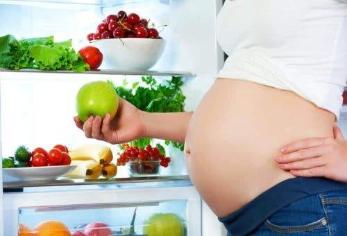 임신 중의 식단