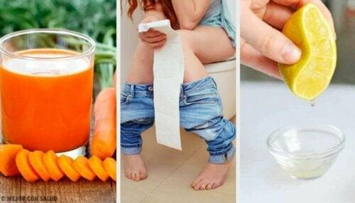 설사를 치료하는 방법