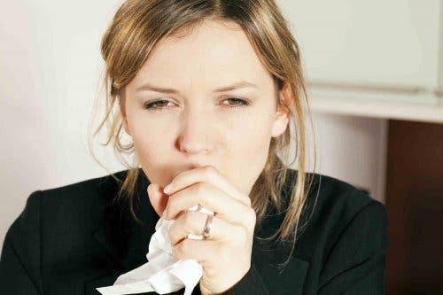 기침을 없애기 위한 계피 생강 음료