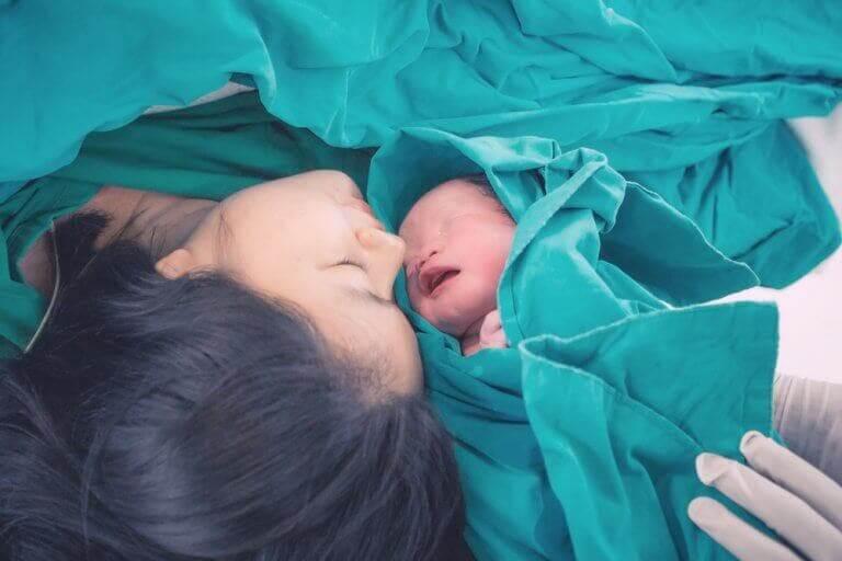 3. 제왕절개로부터의 회복: 출산 후